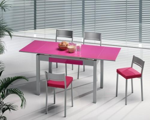 Mesas y sillas cocina estudio for Mesas y sillas de madera para cocina