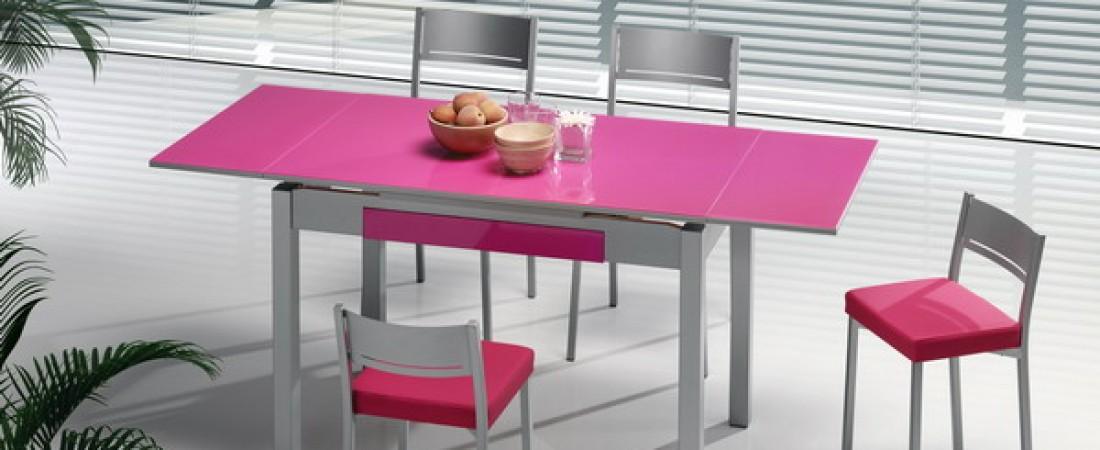 Mesas y sillas de cocinas